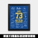 2017 Golden State Warriors Champion Team Signature Frame