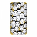 Warrior Curry Thompson Durant cartoon head scrub phone case