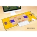 96 gold generation generation large mouse pad Office keyboard pad table mat