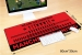 Red Devils legendary super large mouse pad Office keyboard pad table mat gift
