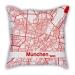 Fan gifts Liverpool Barcelona Bayern pillow sofa cotton and linen texture car pillow cushion gift