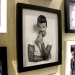 Beckham career photo wall photo frame solid wood bar decoration