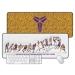 Kobe Dear Basketball Illustrator Oversized Mouse Pad
