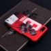 Red Devils Bogba Art Illustration Scrub Mobile phone cases