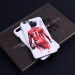 Liverpool Salah Art Graffiti Scrub Mobile phone case