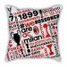 City models Milan map pillow sofa cotton and linen texture car pillow cushion gift