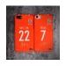 2017 Shandong Luneng home jersey matte phone case