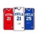Philadelphia 76ers home white jersey mobile phone case