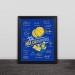 2018 Warriors Champion Team Signature Commemorative Decoration Photo Frame Photo Wall