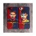 Messi Neymar Illustrator Scrub 3D Mobile phone cases