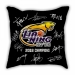 Liaoning men's basketball championship signature commemorative sofa cotton and linen texture pillow car pillow cushion