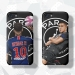 Big Paris Nei Marm Bape Illustrator Scrub Mobile phone cases