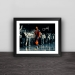 Thunder Paul George classic dunk models home solid wood decorative photo frame photo wall table hanging frame