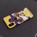 Lakers James domineering celebration illustration matte phone case