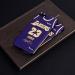 Los Angeles Lakers jersey retro purple James Kobe matte phone case