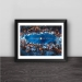 Inter Milan poster anniversary team signature commemorative models solid wood decorative photo frame