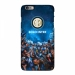 Inter Milan fans look up at the starry frosted fans phone case
