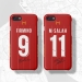 2019 Liverpool home Hemane jersey phone cases