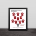 Red Army Liverpool Anfield Stadium Team Logo Photo Frame this is Anfield Fan Gift Photo Frame