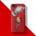 Liverpool Van Dick Salah Illustrator Scrub Mobile phone cases
