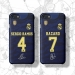 2019-20 Real Madrid Azar jersey phone cases