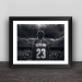 Cavaliers James classic poster photo frame basketball fans ornaments Lakers fans commemorative gifts