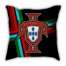 Football World Cup Sofa Cotton and Feel Texture Pillow Car Pillow Pad Portugal Germany Brazil Argentina France